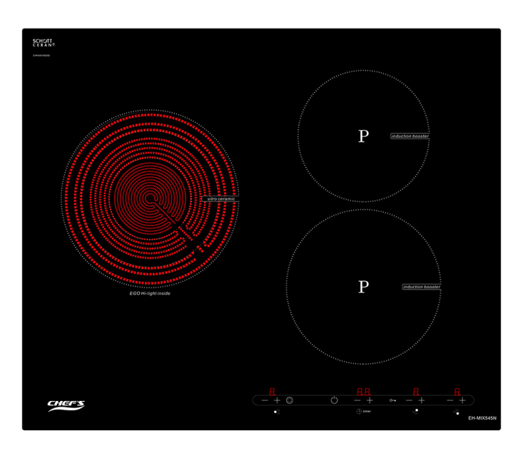Bếp điện từ Chef's EH-MIX545N có phải là bếp ba lò tốt nhất?  - Ảnh 1