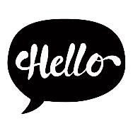 Description: Image result for Hello Talking Bubble