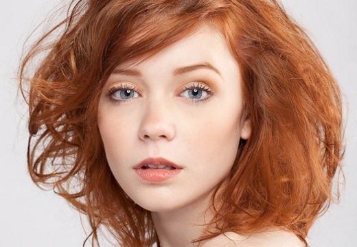 Рыжие брови: как покрасить в нужный цвет и подбор оттенка