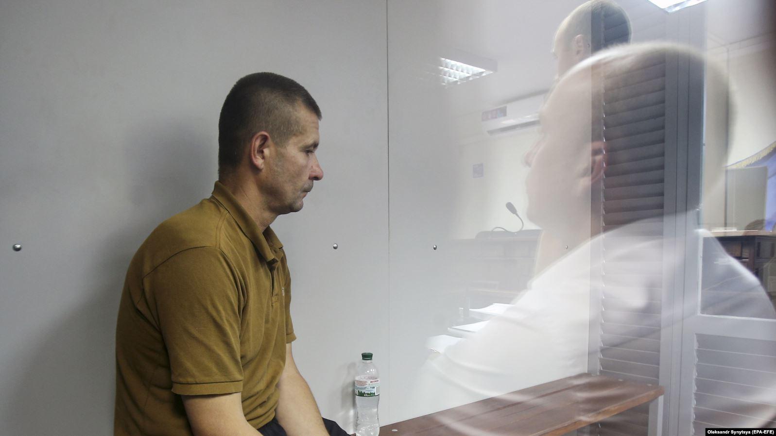 Володимир Петровець у залі судового засідання, 4 червня 2019 року