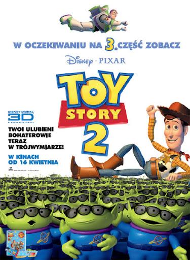 Polski plakat filmu 'Toy Story 2 3D'