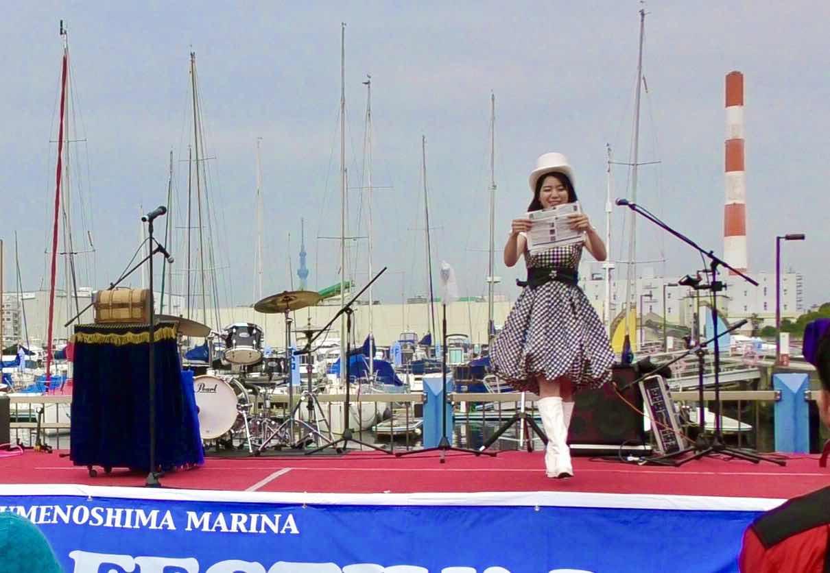 夢の島マリンフェスティバル|美人マジシャン!? 女性マジシャン アリス(有栖川 萌)ブログ|マジックショー,イリュージョン,手妻(和妻,和風手品)の全国出張出演承ります♪