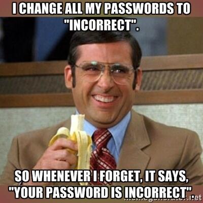 Lei av passord?
