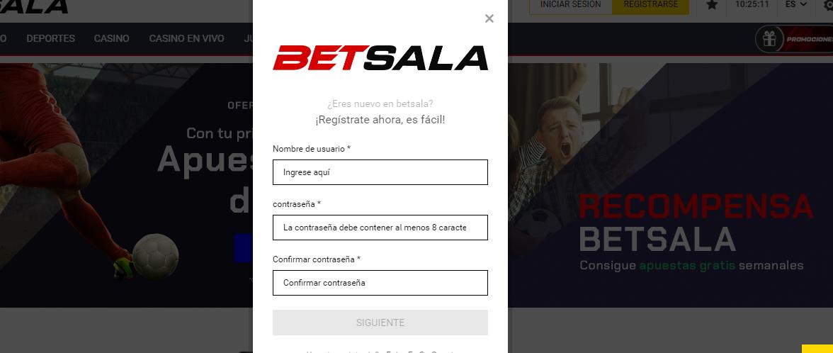 Betsala Apuestas Deportivas Chile