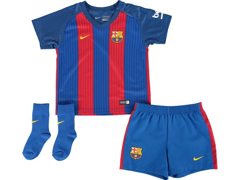 Kết quả hình ảnh cho Koszulki piłkarskie dla dzieci fc barcelona