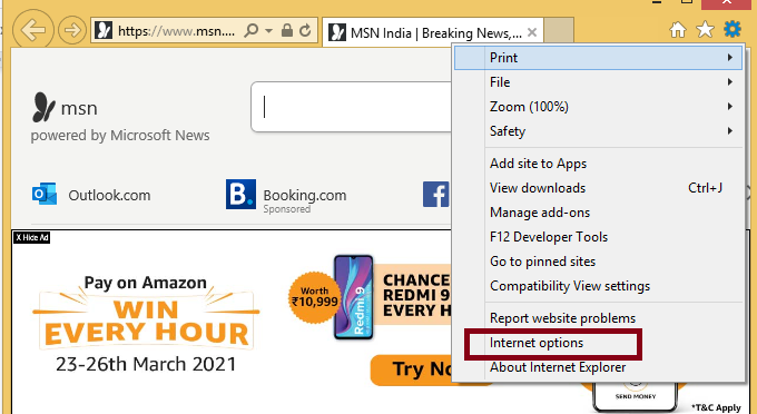 How to disable Autofill  from internet explorer