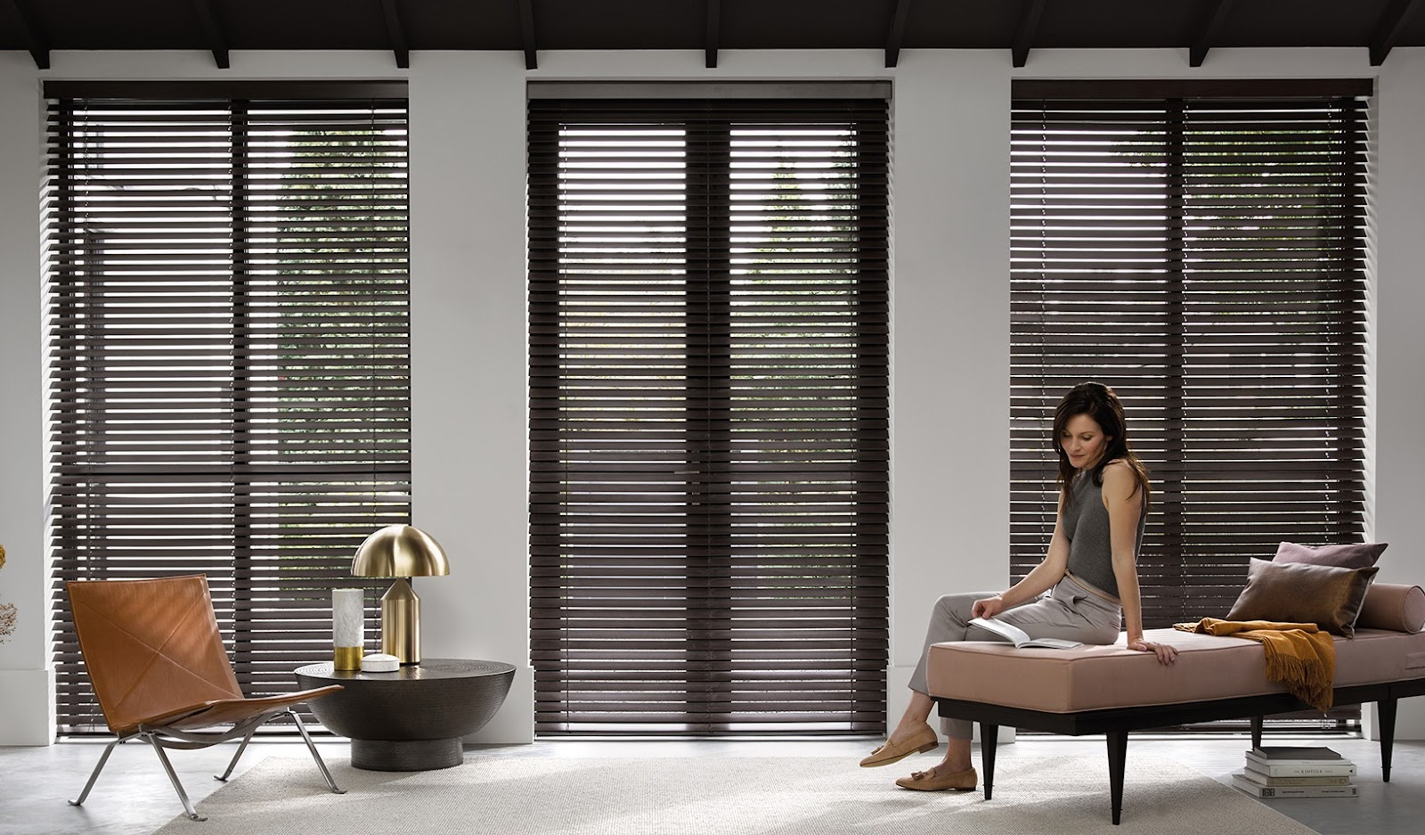 Persianas en madera por qu estas cortinas son una buena for Ventanas con persianas incorporadas