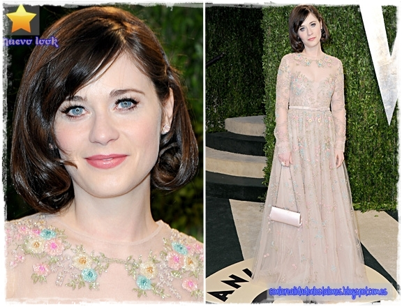 Oscar 2013 - Vanity Fair - Zooey Deschanel - Valentino
