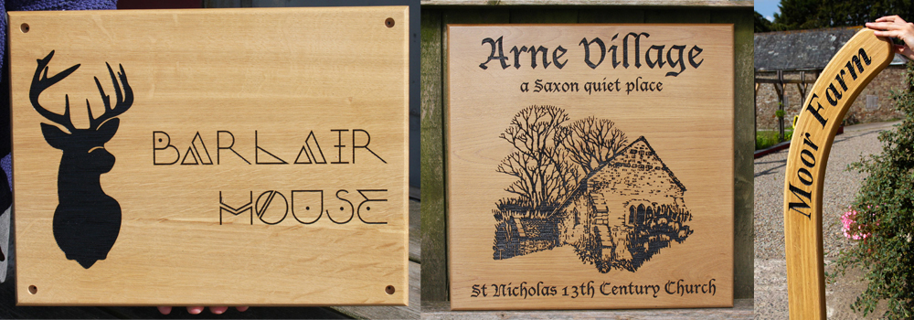 Natural wooden signs are very traditional and hold a level of elegance and class, an excellent choice for holiday accommodation signs. Crafted by The Sign Maker.