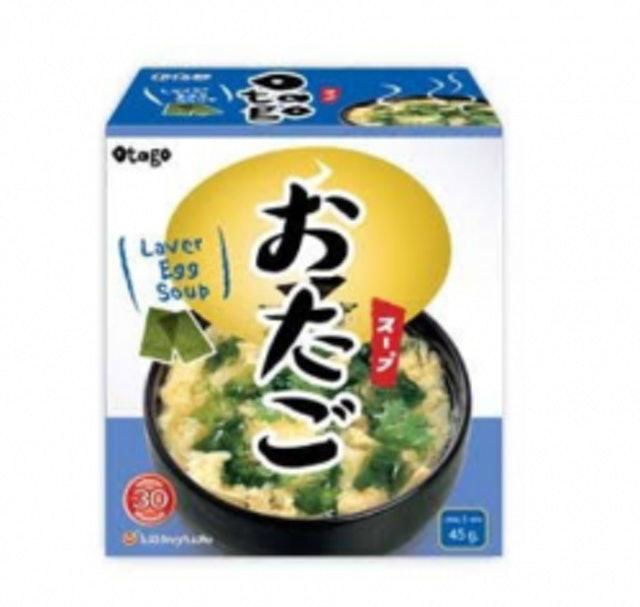 1. Otago Instant Laver Egg Soup