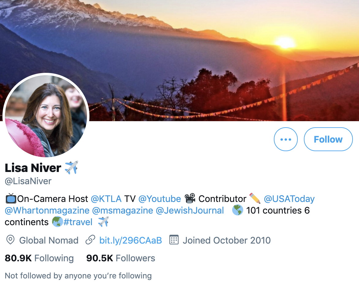 Lisa Niver   Travel Blogger and Writer