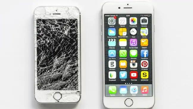 Damaged iPhone