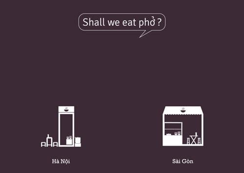 So sánh tếu táo giữa Hà Nội và Sài Gòn 8
