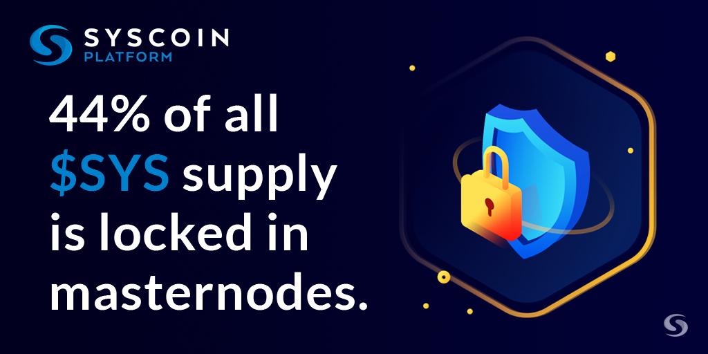 Blog Syscoin Masternode tokens