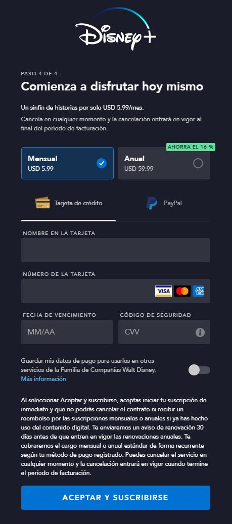 En tu Feed Airtm de la Tarjeta Virtual verás toda la información: número, fecha de vencimiento y código de seguridad; además, el código postal a usar, el cual es exclusivo de Airtm.