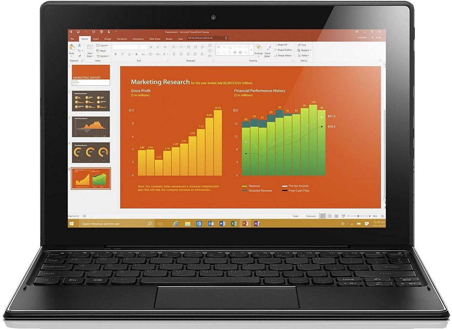 Lenovo Ideapad Miix 310 10-1-inch 2-in-1 Laptop