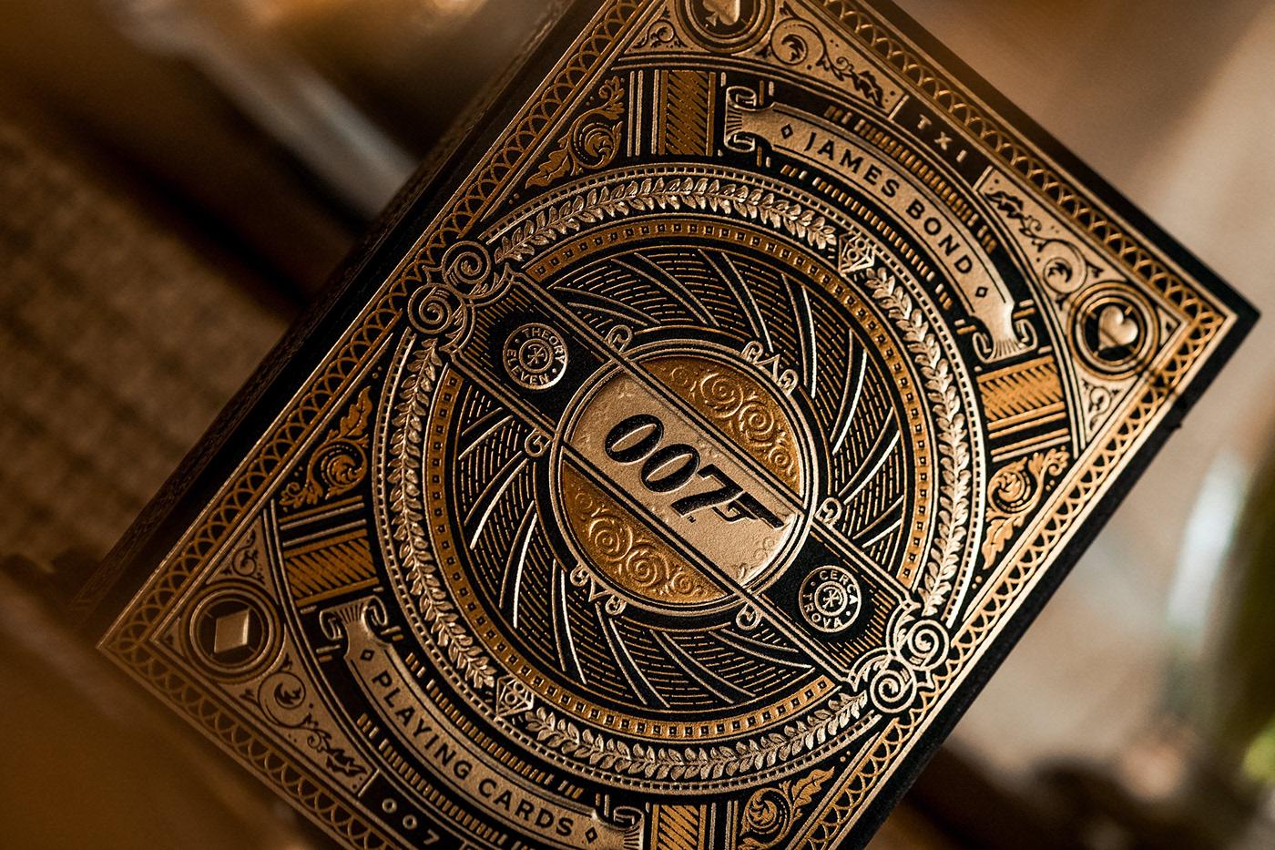Theory11 x James Bond Golden Card Deck