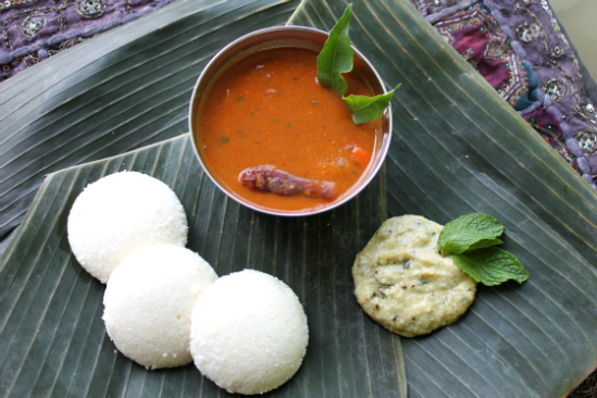 Idli is rich in fibre and protein content