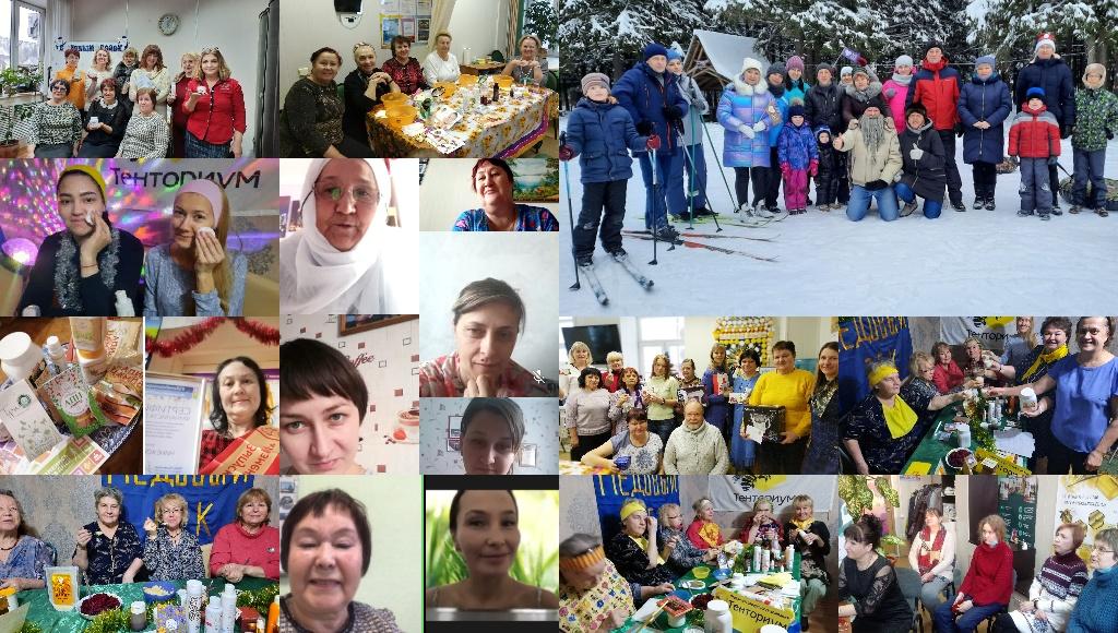 Позитивный настрой на весь год: как прошли новогодние Единые Wellness-Дни ТЕНТОРИУМ®