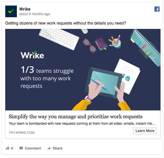 B2B Buyer Personas: Facebook Ads Example