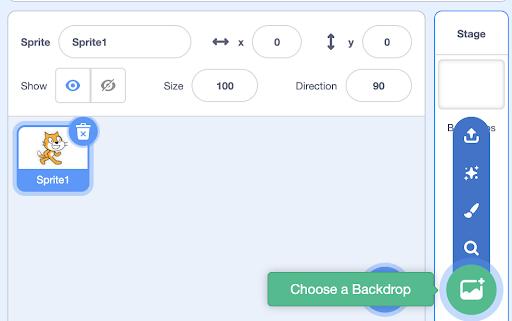 Make a clicker game in Scratch