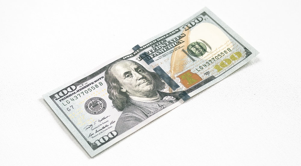 100 US Dollar banknote
