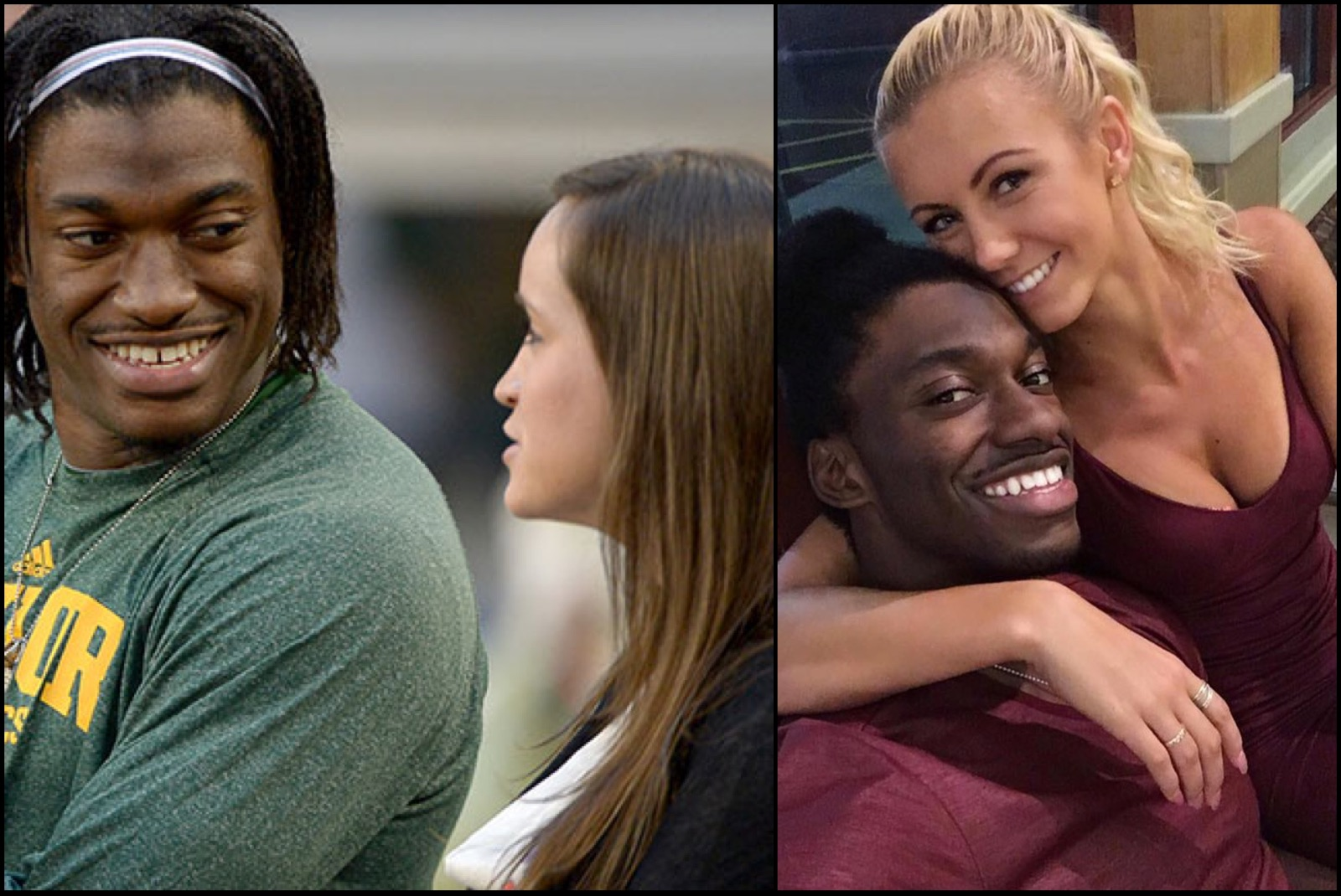 RG3 and his new wife