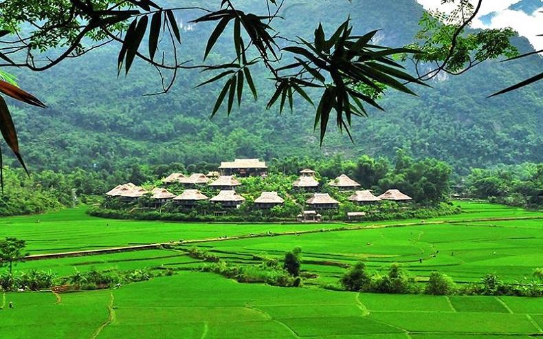 Mai Châu - Hòa Bình yên bình trong bức tranh thiên nhiên