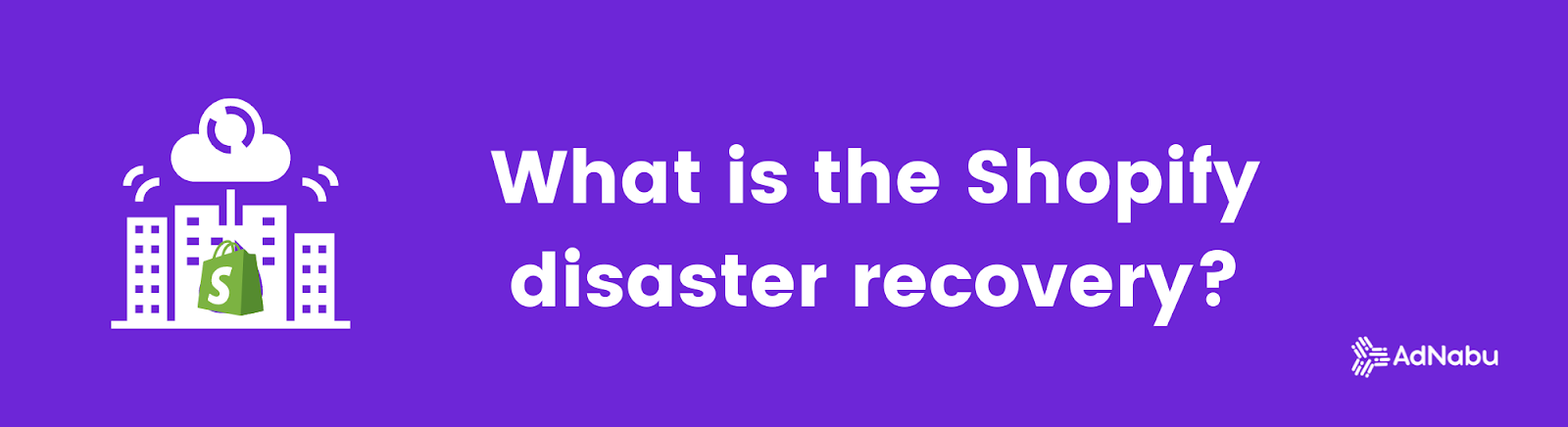 Shopify disaster recovery