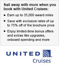 Sail away with more from United Cruises