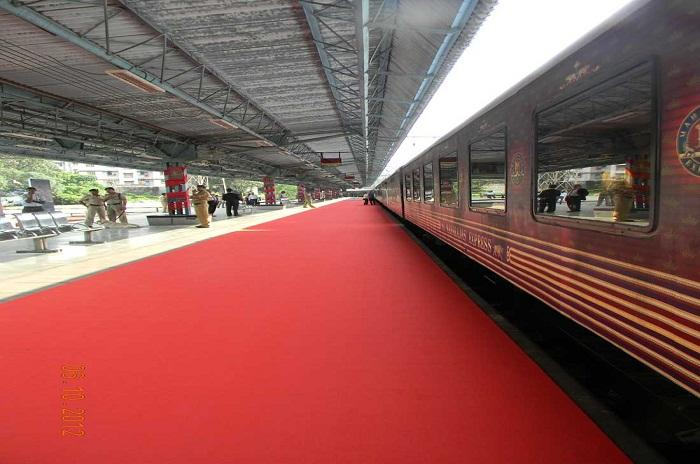 Chhatrapati Shivaji Terminus Railway Station – Axis Of Maharajas' Express