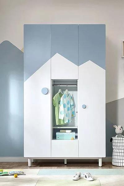 Tủ đựng quần áo gia đình gỗ công nghiệp đẹp hiện đại GHS-5695