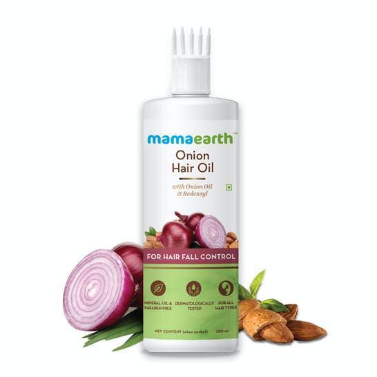 Onion Hair Oil for Hair Regrowth & Hair Fall Control, 250ml
