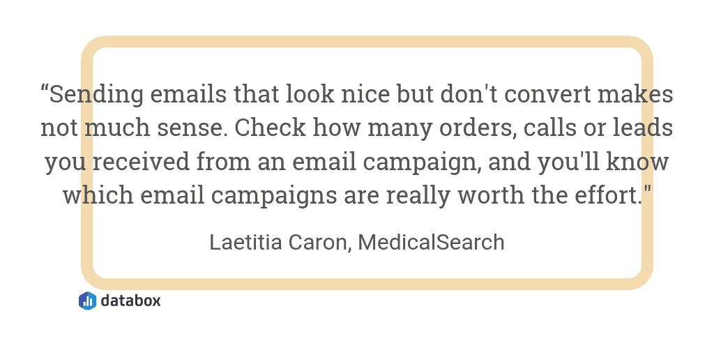 Email analytics quote 3