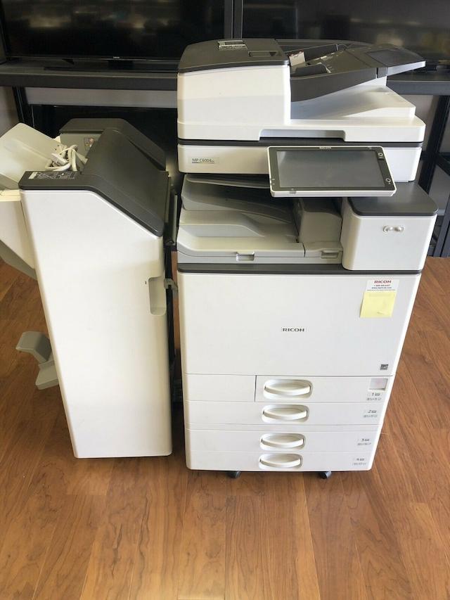 Giá bán máy photocopy cũ phụ thuộc vào tính năng và tốc độ máy