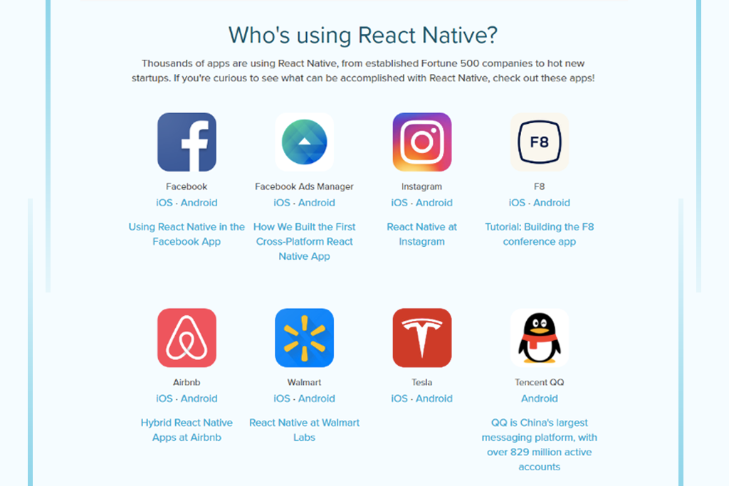reasons to choose react native and companies gkmit