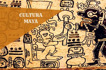 Jeroglífico de la cultura maya