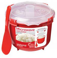 SISTEMA 2.6 L MICROWAVE RICE COOKER