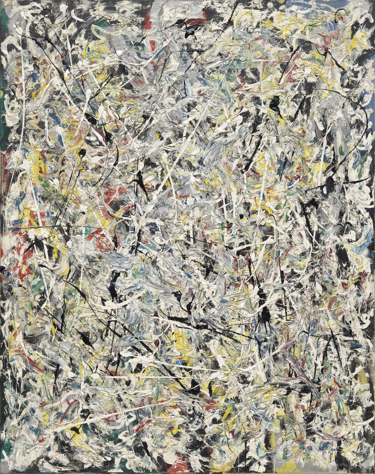 Image result for jackson pollock white light