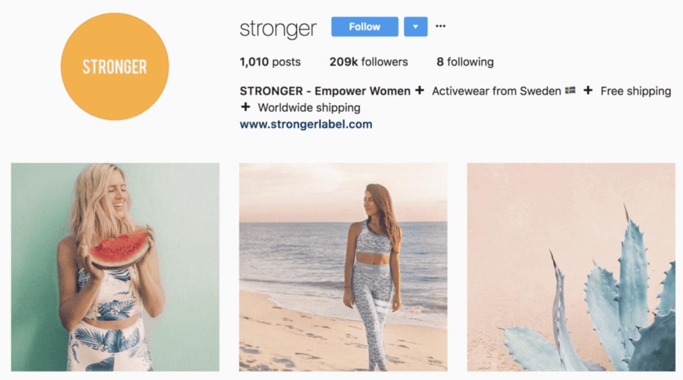 fitness-instagram-niche