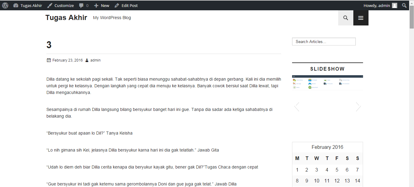 Import Konten Blog WordPress