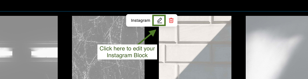 Connect Instagram feed to website on Squarespace