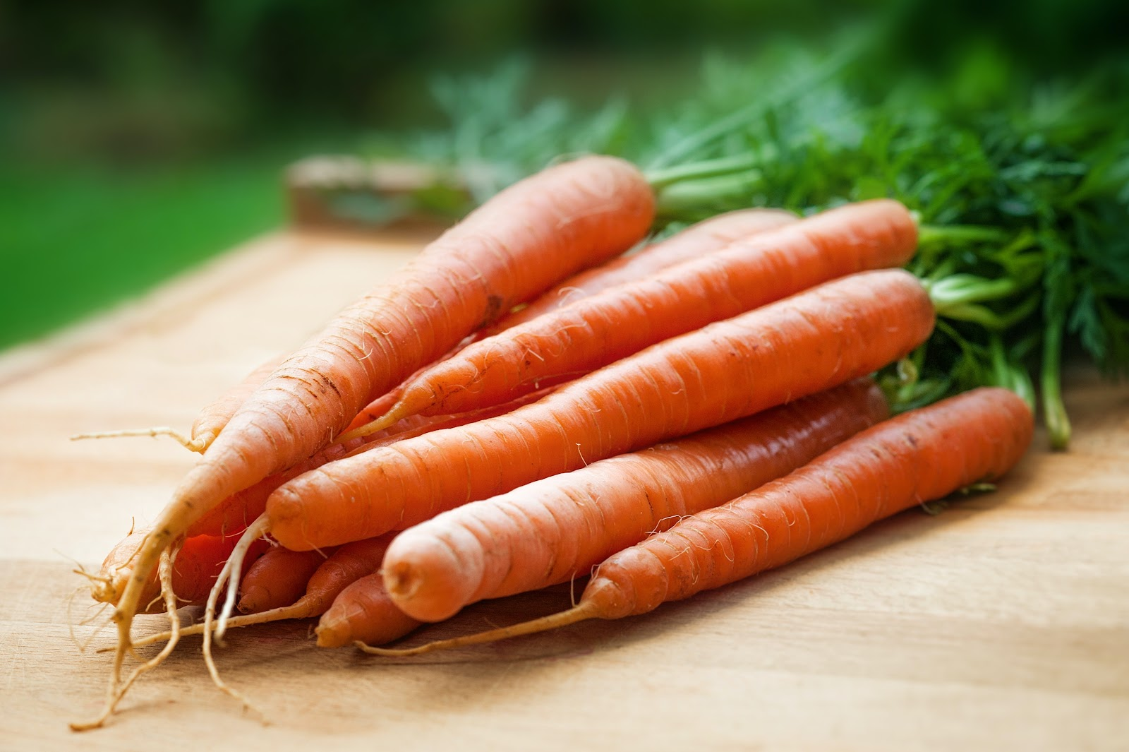 Carrot is great for the eyes