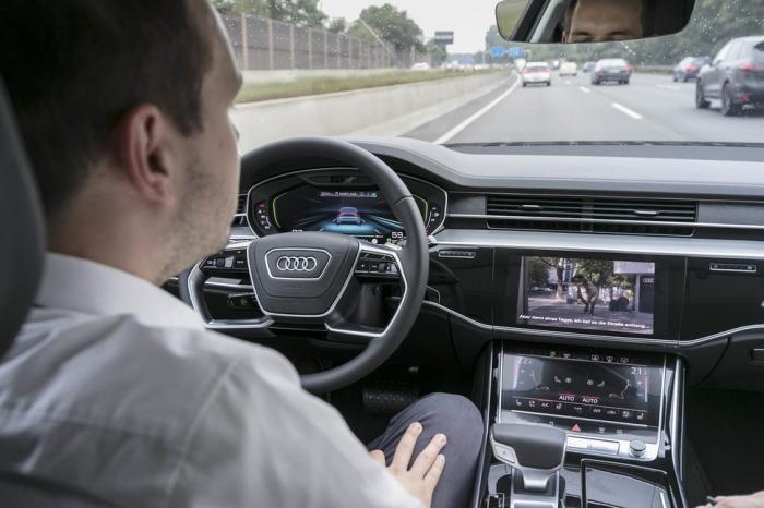Audi ทำรถระดับ 3 ที่สามารถปล่อยมือจากพวงมาลัยได้แล้ว