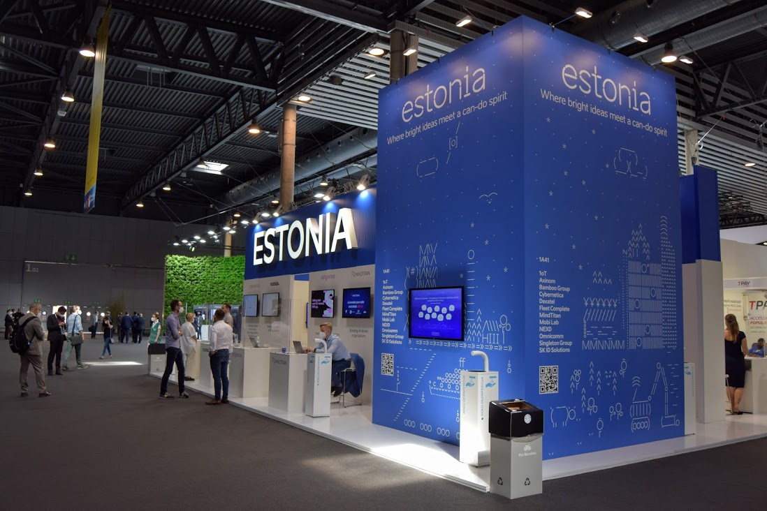 The National Stand of Estonia at MWC21