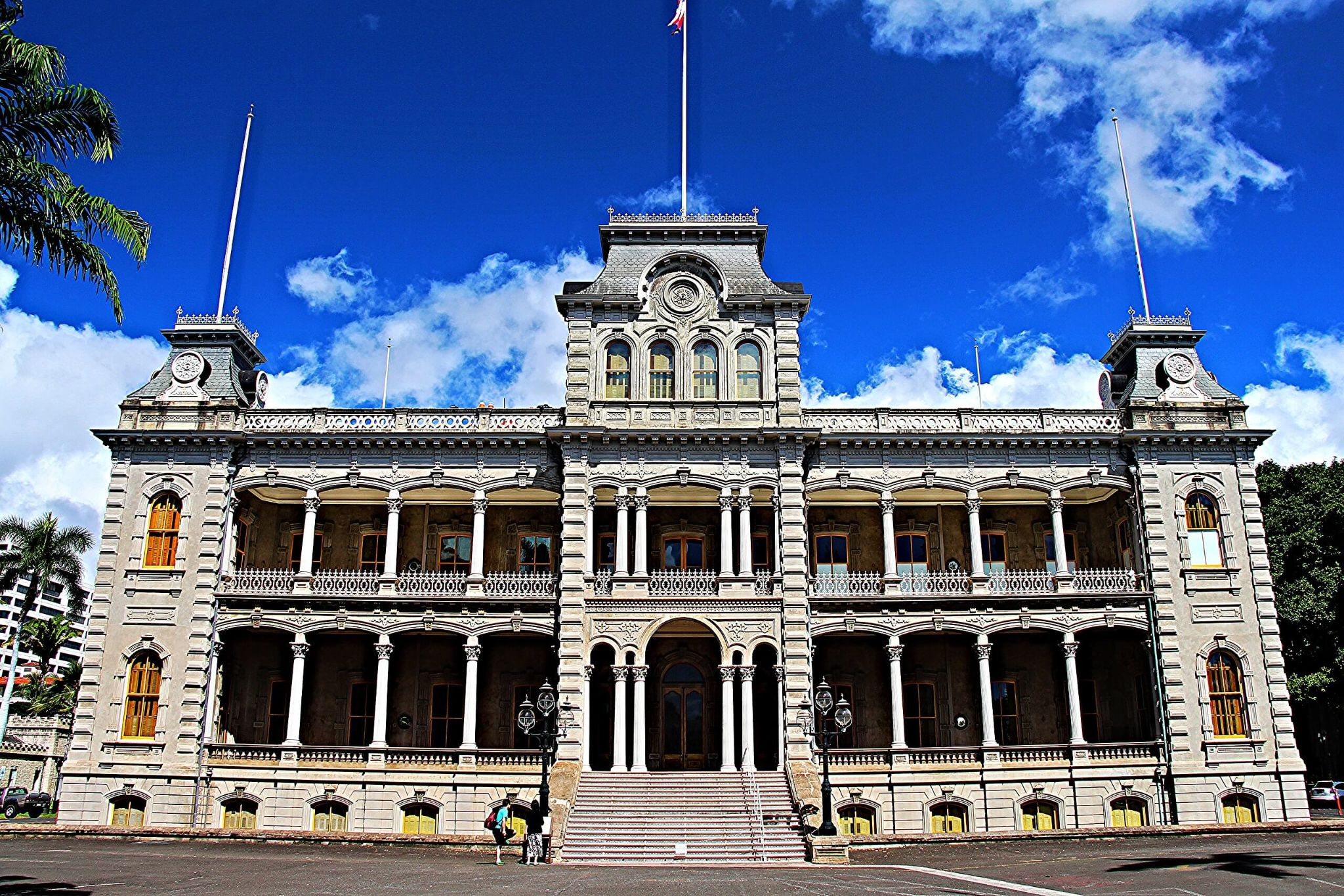 5 days in Oahu itinerary, Iolani Palace, only royal residence in the US