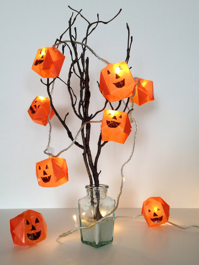 Halloween Lights: These 30 DIY Halloween Decorations That Are Wickedly Creative will save you money and allow your creativity to flourish