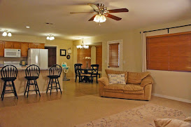 Family room view of 2 acre horse property in San Tan Valley