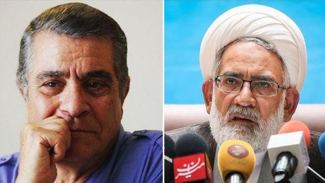 محمد جعفر منتظری دادستان ایران و بهروز وثوقی