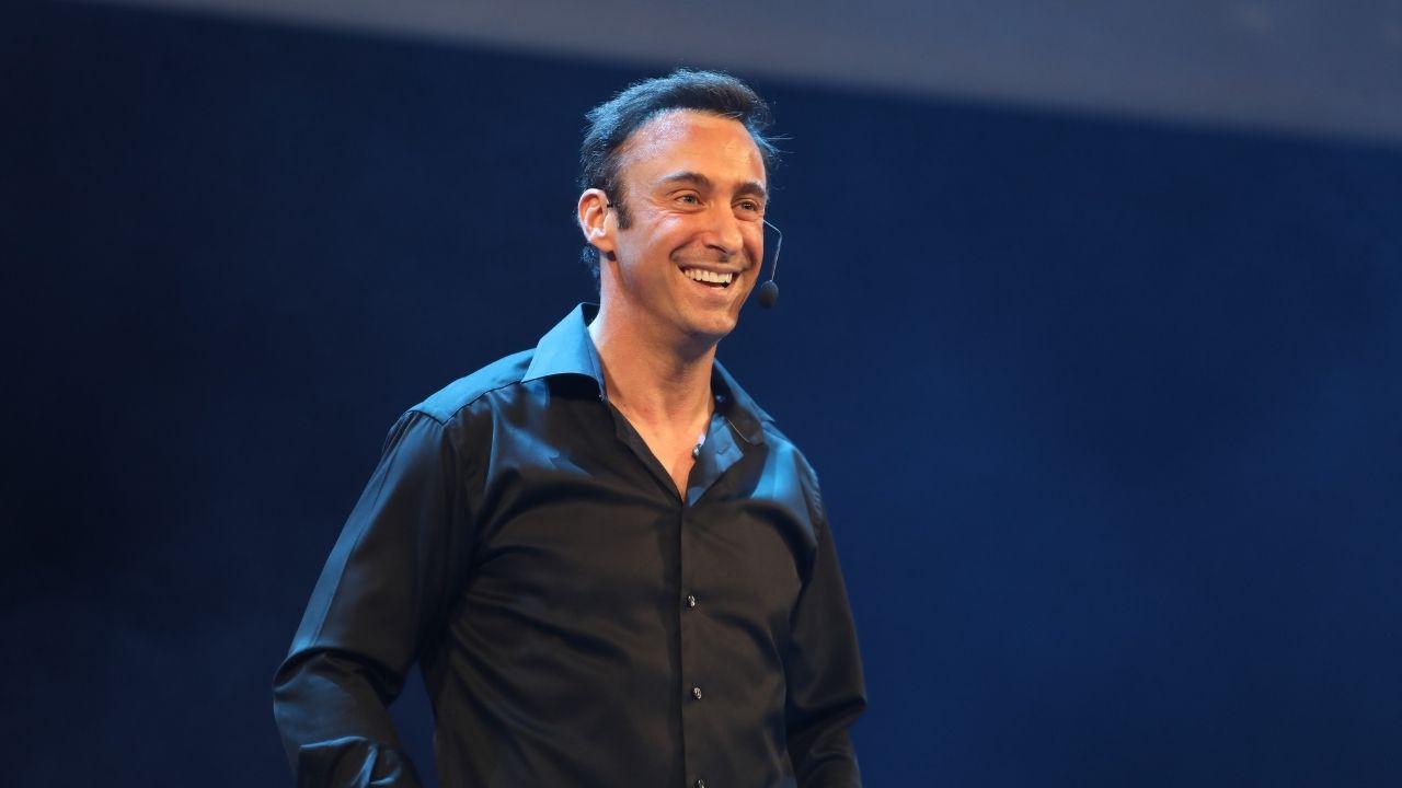 Franck Nicolas en conférence